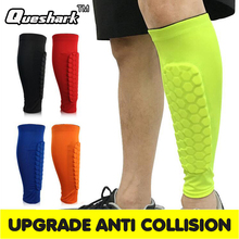 QUESHARK 2 Pieces Soccer Football Sports Shin Guard