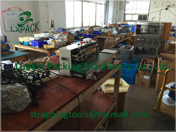 LX-PACK Lowest Factory Prices Highest qualtiy Continuous band sealer FRD900S plastic sealer machine impulse heat sealer lx pack lowest factory price highest quality foot sealer machine foot type constant heat sealer single sided
