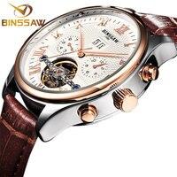 BINSSAW Watches Men Luxury Top Brand New Fashion Men S Big Designer Automatic Machine Watch Male
