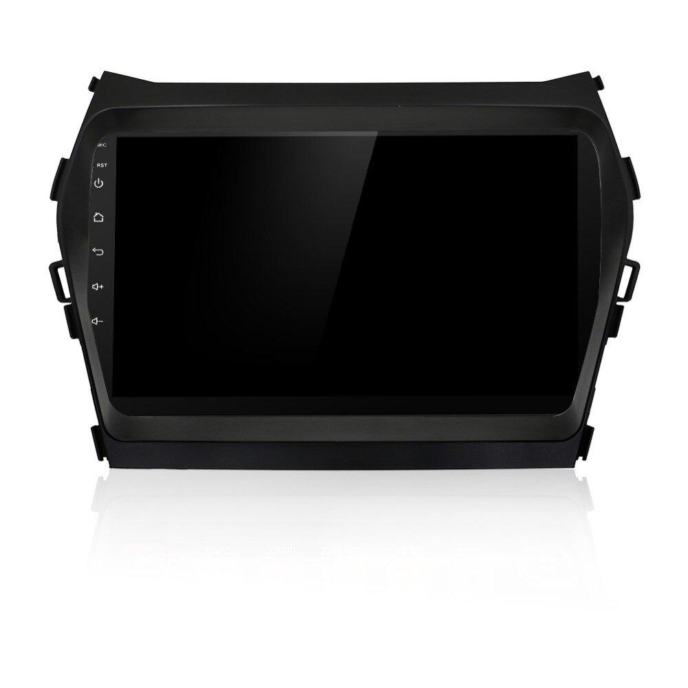 Android 6.0 dvd плеер GPS для Hyundai IX45 Santa Fe 2015 2 DIN в тире автомобиля радио стерео навигации головного устройства