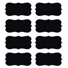 Chalkboard Labels Premium Waterproof Peel and Stick for Jars Pantries Craft Rooms Black decorative stationery sticker