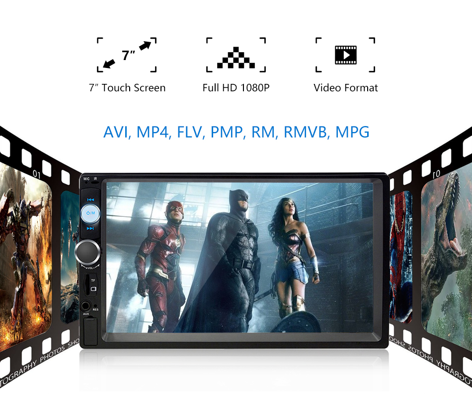 Touch FHD Support autoradio 5