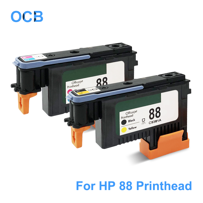 For HP 88 Printhead C9381A C9382A 88 Print Head For HP Officejet Pro K5400 K550 K8600 L7480 L7550 L7580 L7590 L7650 L7580 L7750 картридж hp c9396ae для hp k550 pro k5400 pro k8600 pro l7480 pro l7580 pro l7590 pro l7680 pro l7780 pro черный