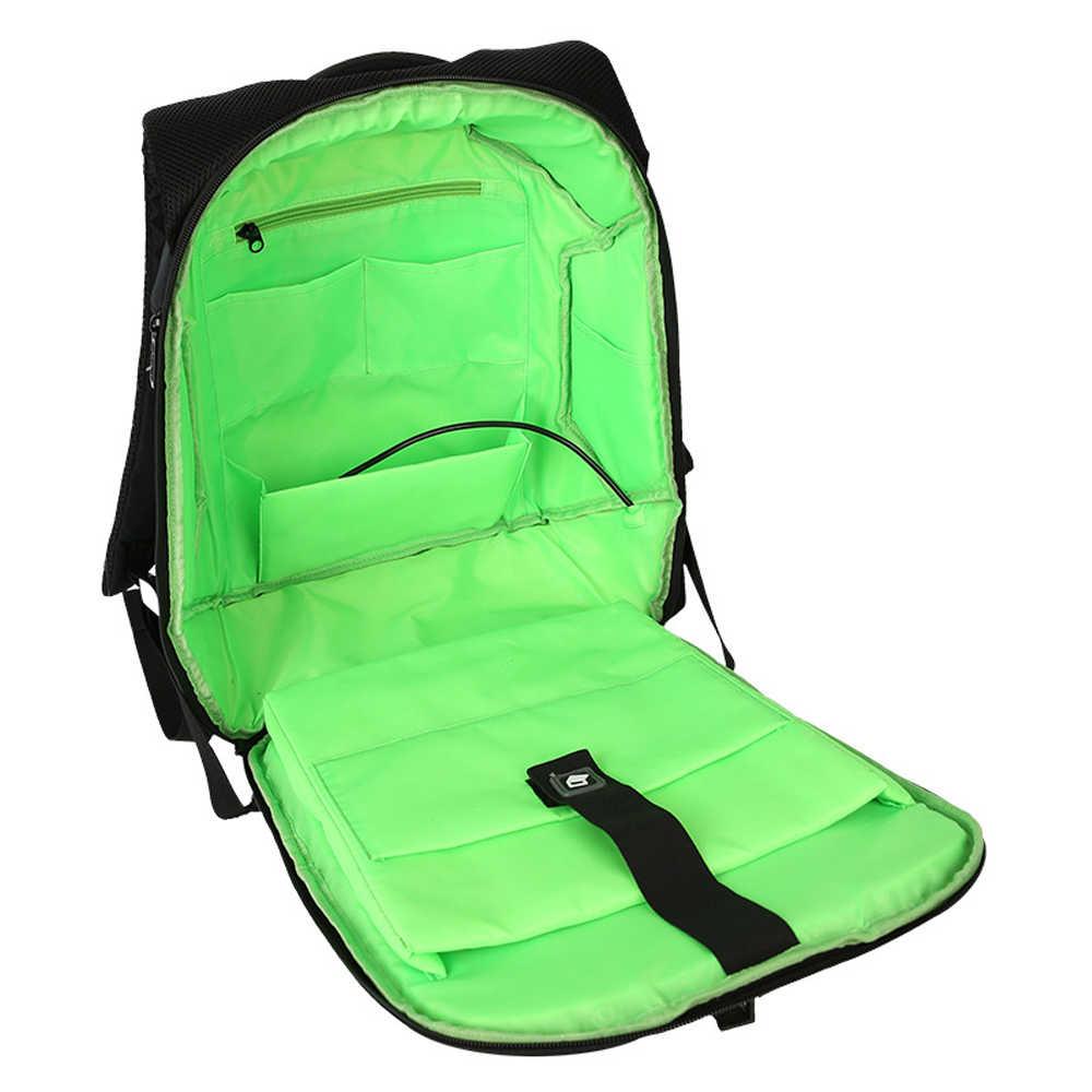 MARKROYAL солнечной энергии Противоугонный мужской рюкзак для 15,6 дюймов ноутбука внешнее зарядное устройство USB путешествия рюкзак водоотталкивающий Mochila