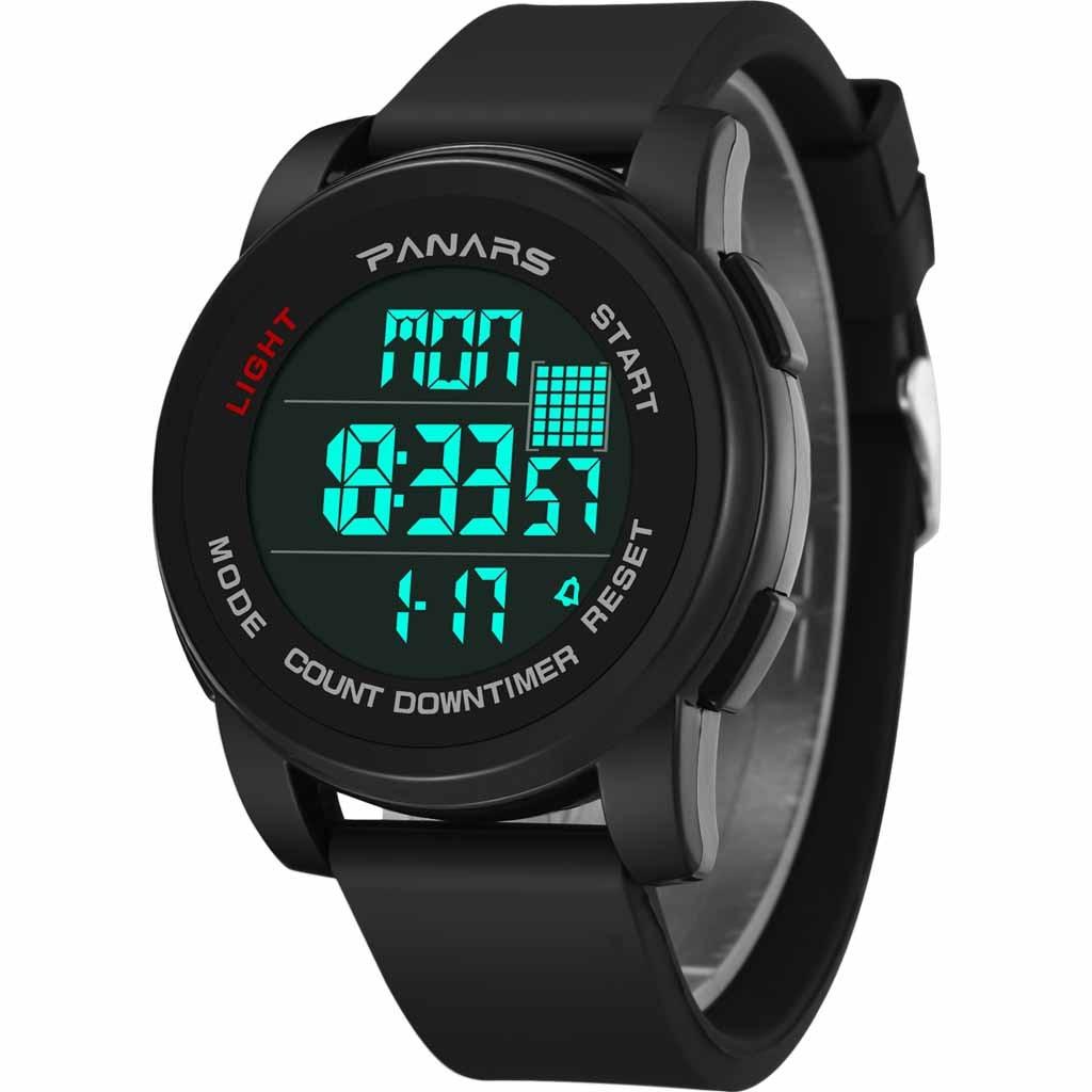 Functional Sports Waterproof Date Display Luminous Alarm Men's Electronic Watch