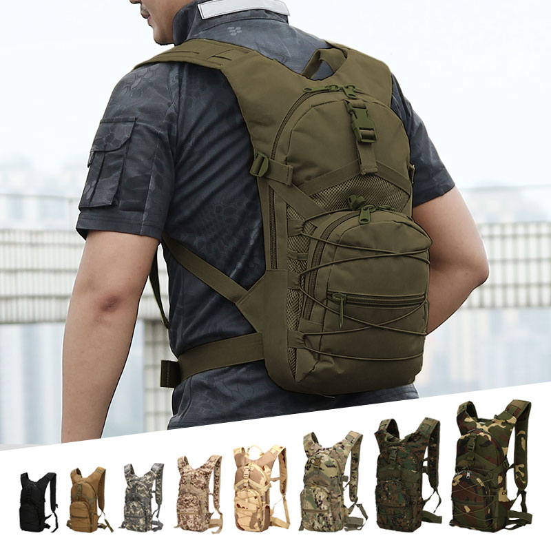 18L Men Tactical Backpack 800D Oxford Military Backpack Unisex Outdoor Sports Cycling Backpack Travel Climbing Camping Backpack