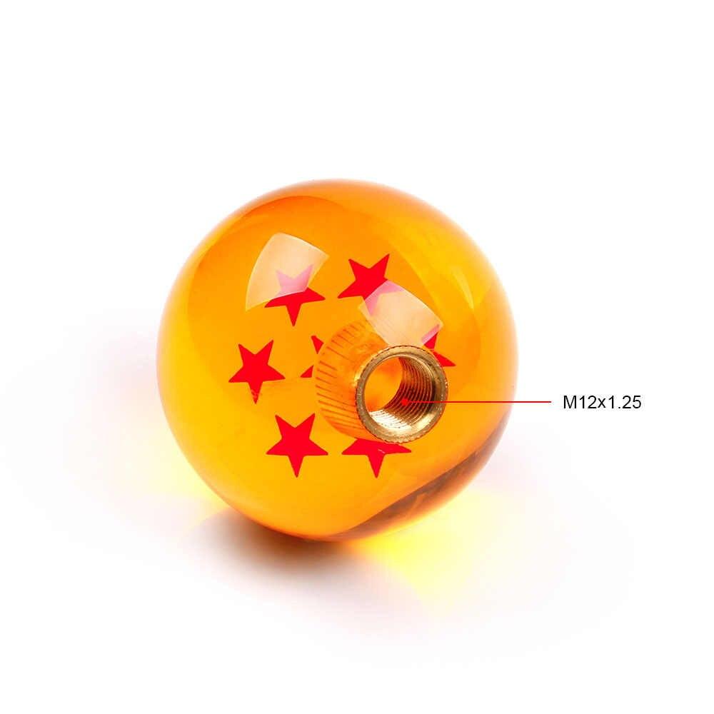 RASTP-Автомобильный Стайлинг Dragon Ball ручки переключения передач гоночная ручка крутая акриловая звезда шаровая ручка переключения передач для универсальных автомобилей RS-SFN042