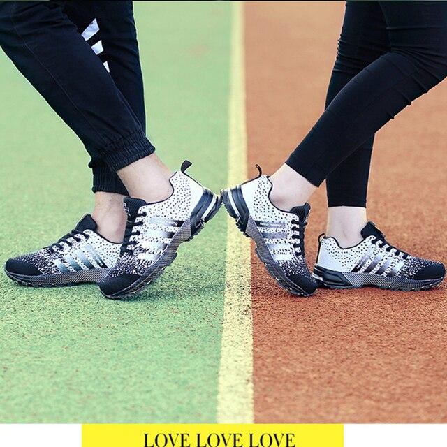 MLANXEUE 2018 Breathable Lovers Unisex Casual Shoes Race an Male Shoe Size 35-4 Fashion Lace-up Human Comfortable Men Shoes 5
