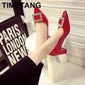 Moolecole 2015 chegada nova salto alto Chinês famosa marca de moda do vintage bombas, ladys sexy sandálias para as mulheres, frete grátis