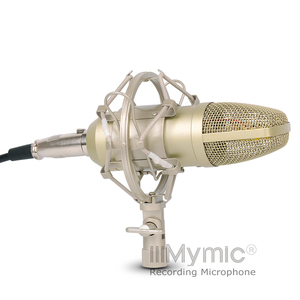 Image 4 - I 1コンデンサーマイク!! 34ミリメートルゴールドダイヤフラムカプセル!! プロのコンデンサマイク金属録音