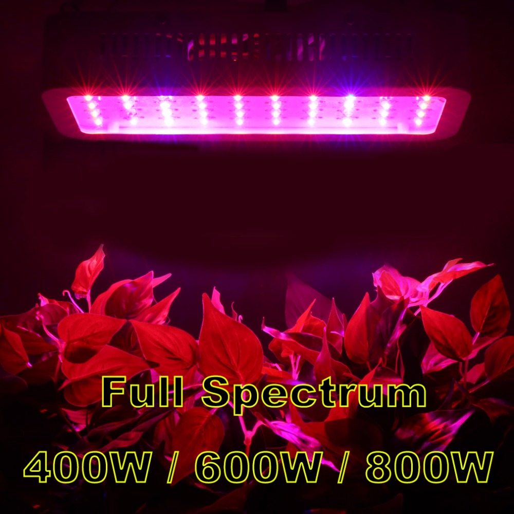 High Power Full Spectrum 400W 600W 800W LED Grow Lights Horticulture Garden Flowering Hydroponics Vegetables Led