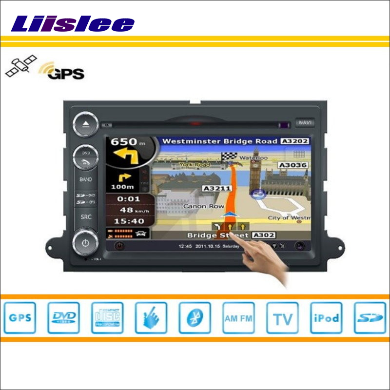 Liislee For Ford F-150 2004~2011 Car S160 Multimedia System Radio Stereo CD DVD TV GPS Nav Navi Navigation HD Touch Screen