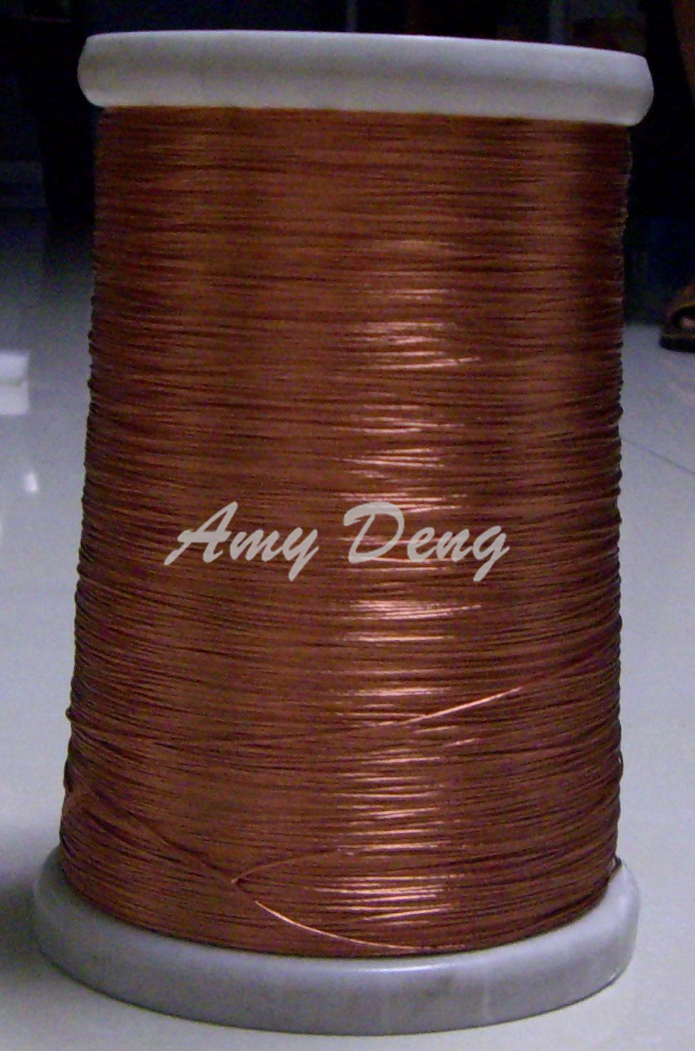 100 Meters/lot  0.1X100 Strand Twisted Pair Copper Wire, Copper