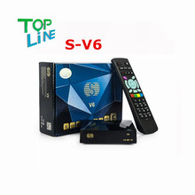 150M WIFI S-V6 Mini Digital Satellite Receiver S V6 with AV HDMI output Support 2xUSB WEB TV USB Wifi 3G Biss Youporn