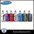Korma 75 W TC originais Innokin iTaste Kit com 2 ml Tanque 2000 mah Bateria 7 cores Eletrônico Kroma SlipStream cigarro