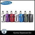 Original Innokin iTaste Korma 75W TC Kit with 2ml SlipStream Tank 2000mah Kroma Battery 7 colors Electronic Cigarette