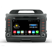 HD 1024×600 2 Din Kia Sportage R 2010-2014 Quad Core Android 5.1.1 Car DVD GPS Navigation Video Player 2 Din Stereo Radio