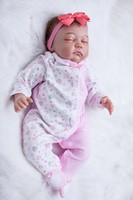 20 reborn baby dolls настоящий Новорожденный ребенок ищет сенсорный Силикон виниловые куклы для Рождественский подарок для девочек высокого класс