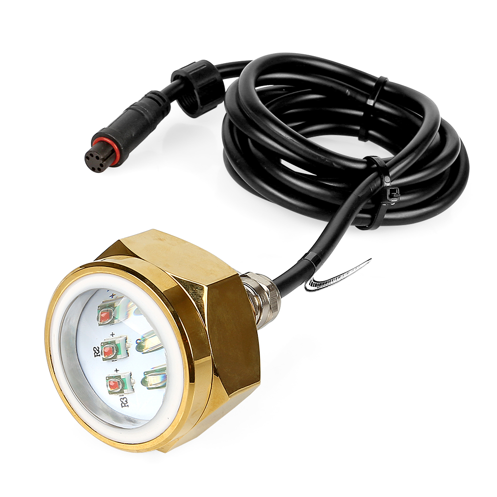 LAGUTE 27W RGB LED Drain Plug Light Boat Underwater Remote Control Diving Fishing Lamp Deck/Marine/Boat Waterproof Color Changin remote rgb control waterproof 100% plastic led night light