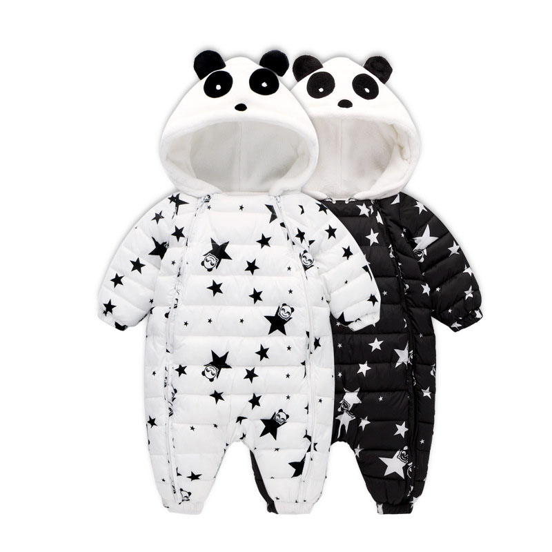 Winter Baby Rompers Overalls Bodysuit Clothes Jumpsuit Cute Cartoon