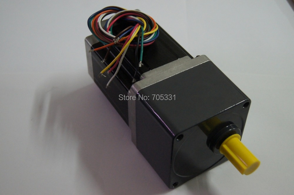 цена на 1.8 Angle NEMA 34 Geared Stepper Motor with 8.5N.m Holding Torque Motor Length 118mm 4-lead Gear Ratio 1:50