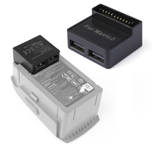 Accumulatori e caricabatterie di riserva Converter per DJI Mavic 2 Zoom Drone Batteria Per Accumulatori e caricabatterie di riserva Adattatore Controller di Telefono di Ricarica Esterno Hub USB con USB
