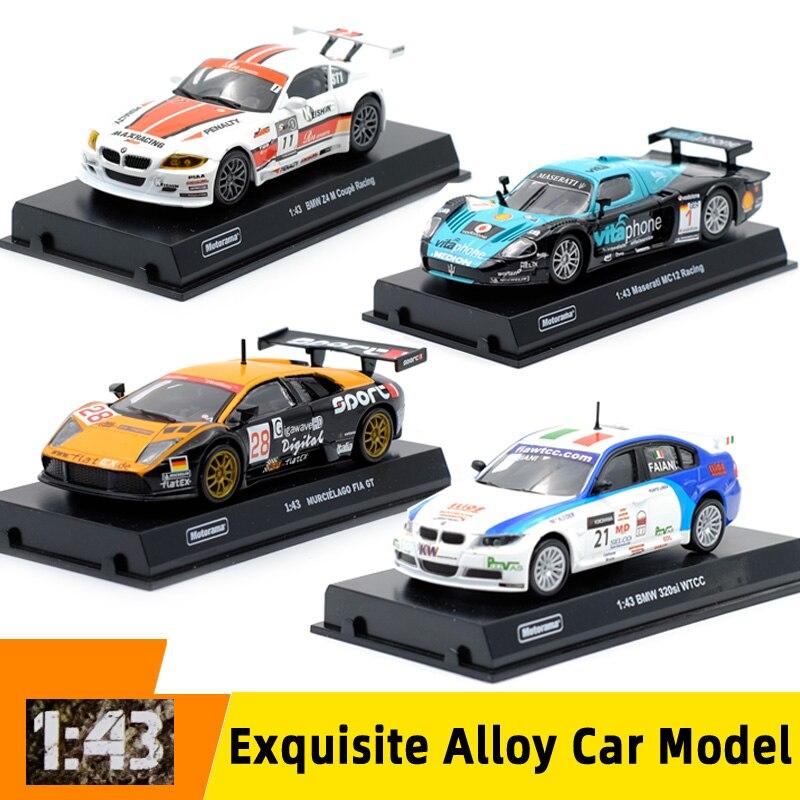 Motorama 1:43 Metal Model Toy Car Alloy Sports Car Z4M/320SI/MC12/MURCIELAGO  Diecast Vehicle Car Toy Collection For Kid Gift