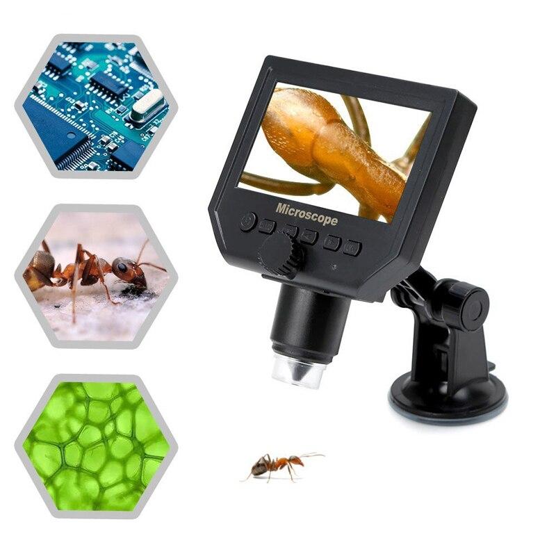Portable Digital Microscope 3.6MP 600x USB Endoscope Magnifier Camera Vedio Microscope for QC/Industrial/Collection Inspection 2mp digital microscope usb magnifier camera microscope inspection camera