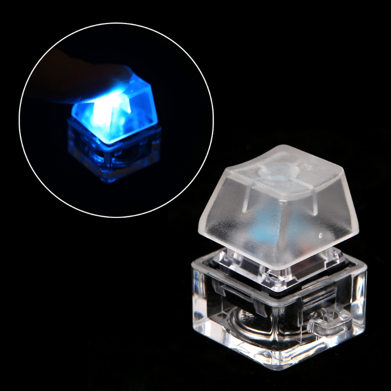Mechanical Switch Keychain Light Up Backlit For Keyboard Switches Tester Kit