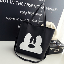 Disney Mickey Mouse lady cartoon shoulder bag messenger bag fashion handbag clothing accessories high capacity storage gift bag