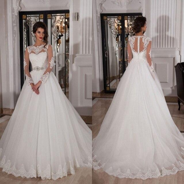 Venta de vestidos de novia con encaje