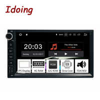 "Ido 7 ""universel Octa Core 2Din voiture Android 9.0 Radio lecteur multimédia PX5 4G RAM 32G ROM GPS Navigation IPS écran TDA 7850"
