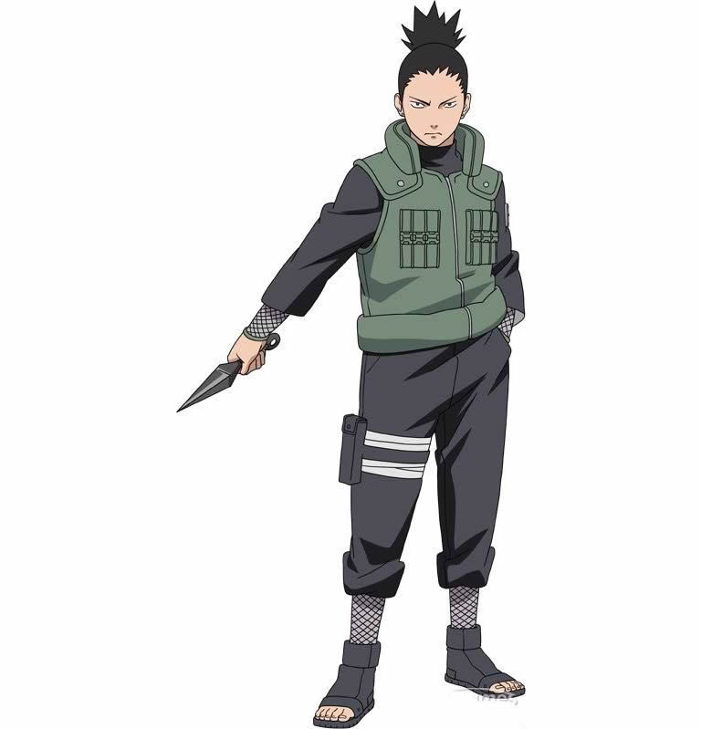 Carnival costumes anime Naruto Shikamaru Nara Cosplay Costume Halloween costumes for adult men 3nd version