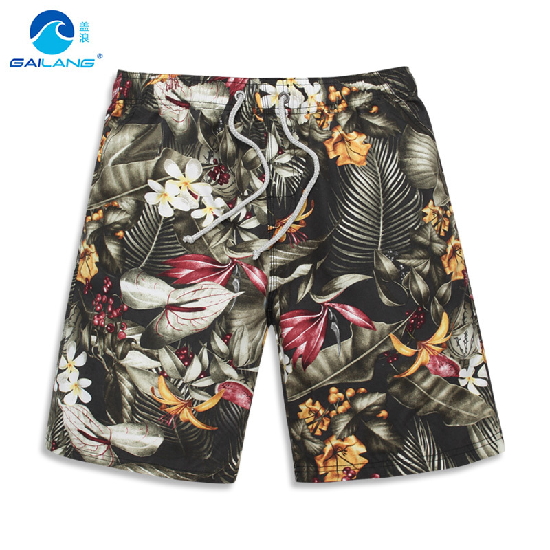 shorts   men spring new 2018 mens male's Bermuda masculina de marca   Board     Shorts   Boardshorts Beach men's Surf   Shorts
