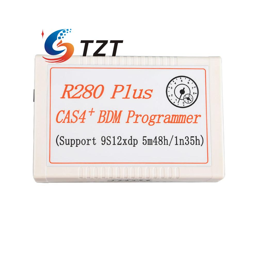 R280 Plus Mileage Programmer Auto CAS4 BDM Auto Programmers Microcontroller 12V/2.5A Power for Bmw Key