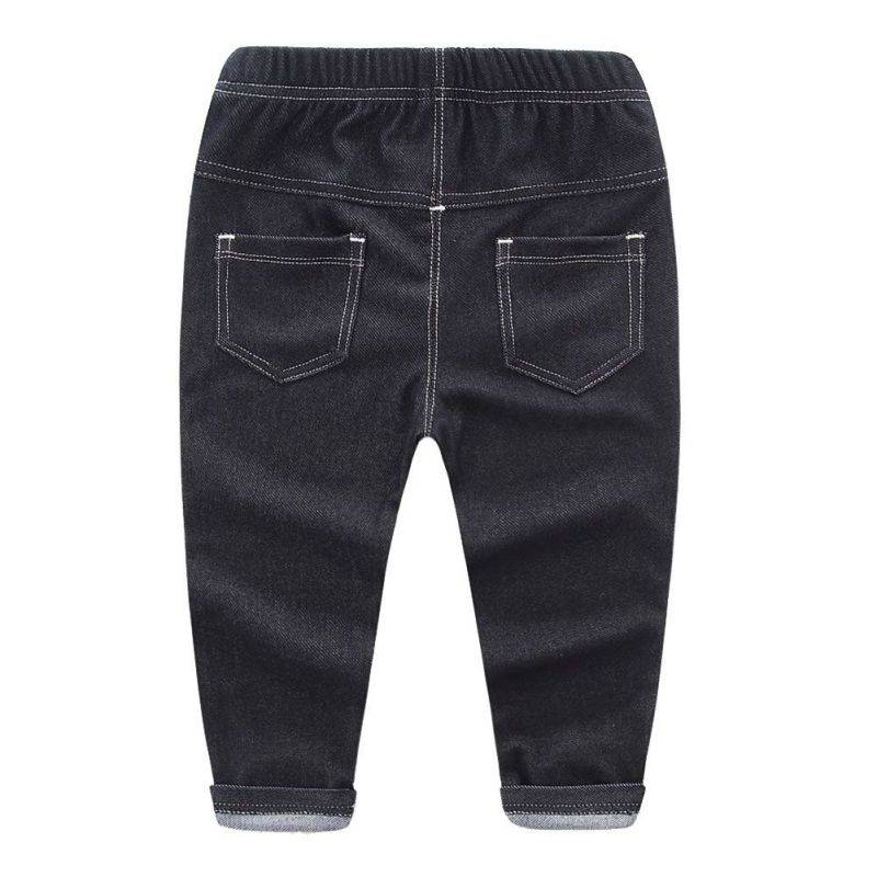 Boys-Girls-Pants-Jeans-Fashion-Kids-Jeans-for-Spring-Fall-Childrens-Denim-Trousers-Kids-Blue-Black-for-2-6Y-Kids-Designed-Pants-1