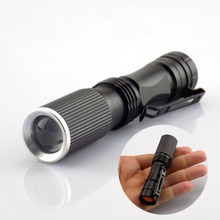 High Power Mini Flashlight Q5 1600 Lumens Protable LED Flash