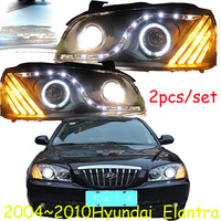 HID,2004~2010,Car Styling,Elantra Headlight,Solaris,accent,Elantra,Genesis,i10,i20,santa fe,lantra;Elantra head lamp