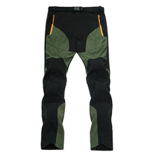 Men's Summer Pants Men Ultra Thin Breathable Quick Dry Pants Male Green/Black Trousers Man Casual Pants With Zipper Pocket AM109