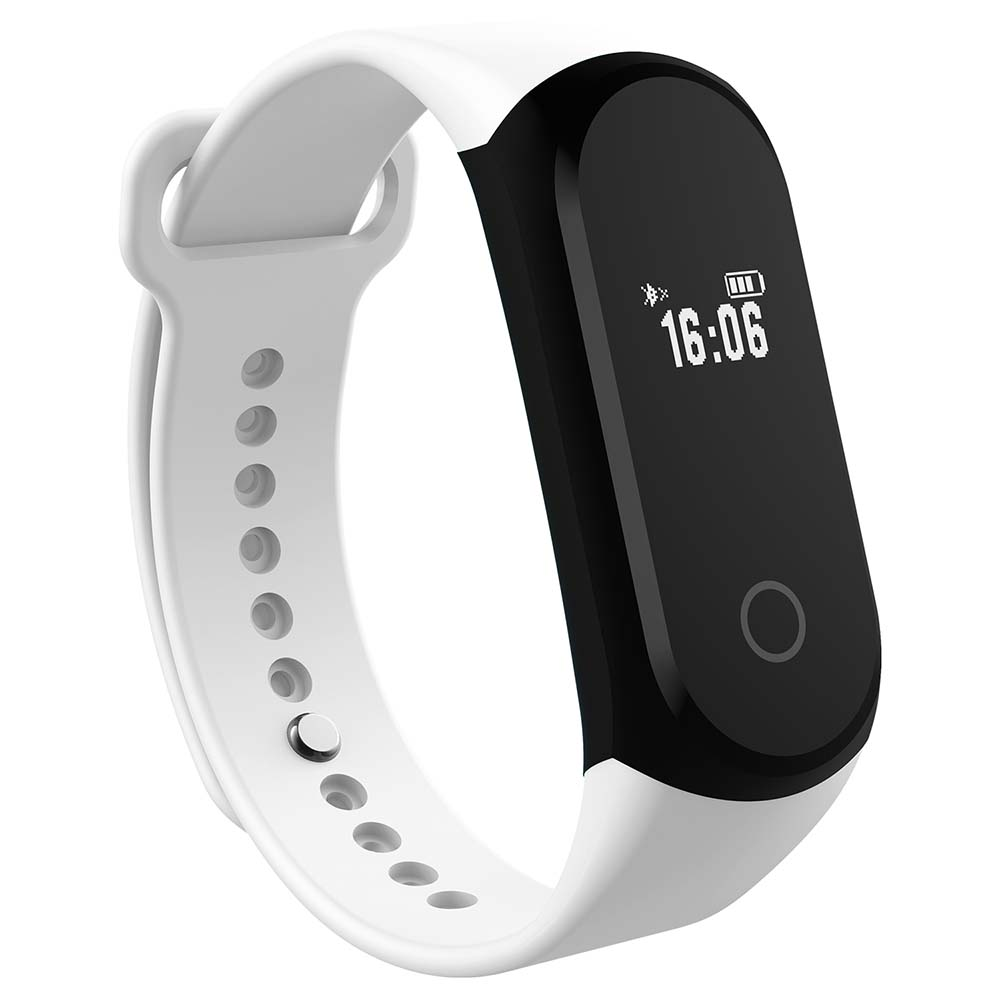 Leegoal Smartband Heart Rate Monitor Wristband Fitness Bracelet For Android Ios Pk Xiaomi Mi Band 2 Fitbits Waterproof