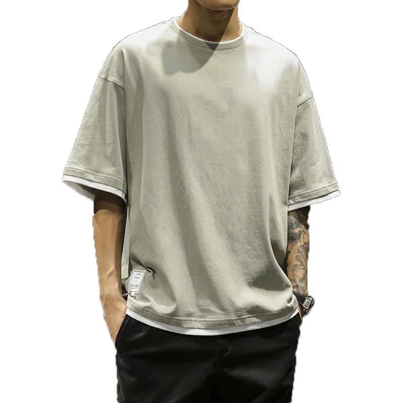 2019 Brand Men   T  -  Shirts   Summer cotton Short Sleeve tshirt casual Tee   Shirts   Male   T     shirt   Homme Plus Size 3XL Men's Tops & Tees