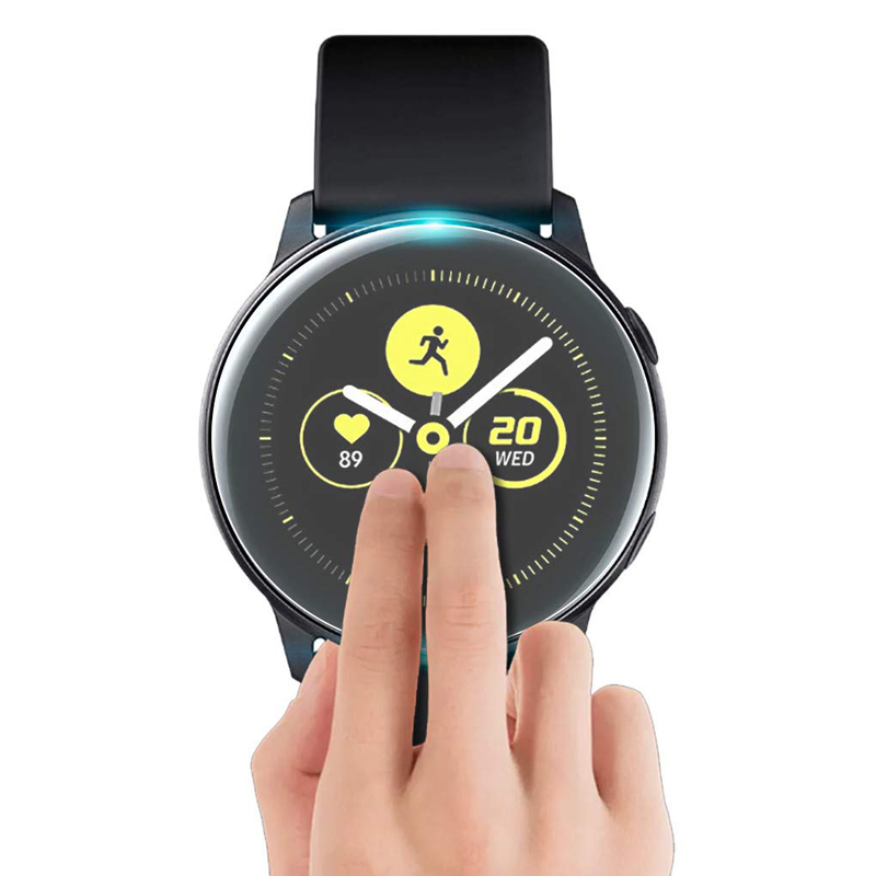 Screen Protector Film For Samsung Galaxy Watch Active 2 40mm 44mm Galaxy Watch 46mm 9H Transparent Watch Glass Accessories