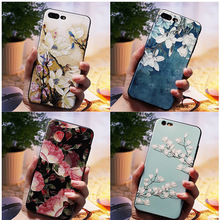 3D Relief Flower Luxury Cases For Xiaomi A1 5X TPU Silicone Rubber Soft Cover Case Redmi 5 plus 4A 4X Note 5A prime