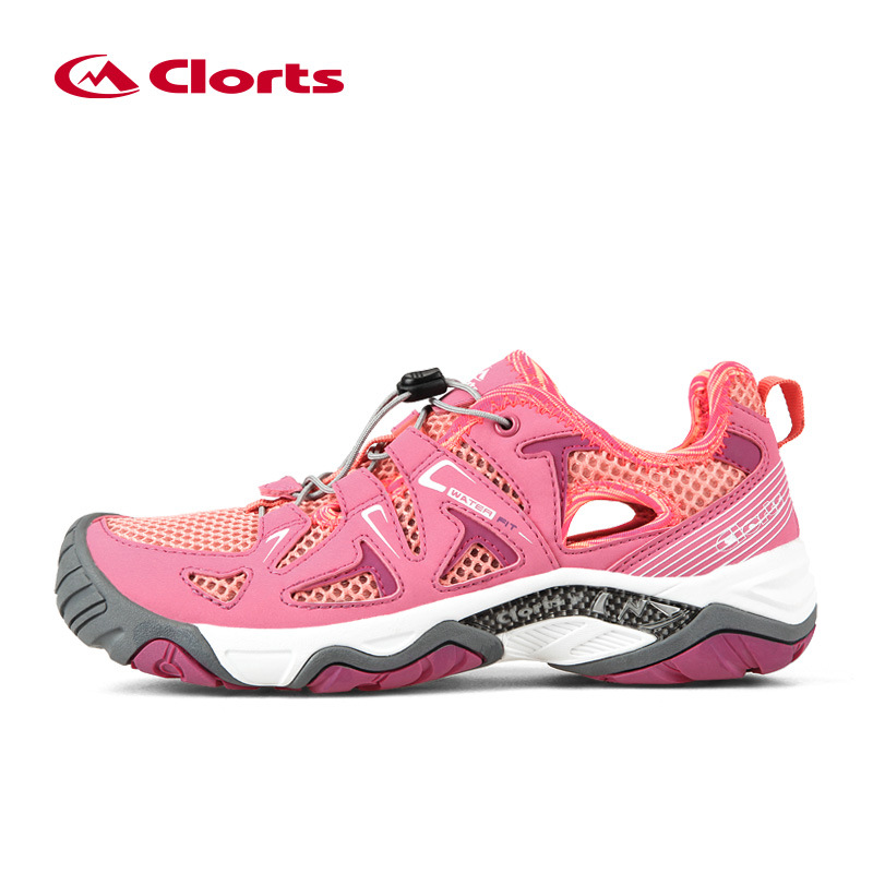 Clorts Women Aqua Shoes PU Leather Quick Dry Boating Shoes Summer Breathable Wading Sandals Water Aqua Shoes Lady Beach Sandals merrto 2016 new brand women beach water aqua shoes upstream fishing wading shoes water breathable sneakers 18376 1