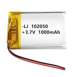 1000mAh 3.7 V 102050 Lithium-i