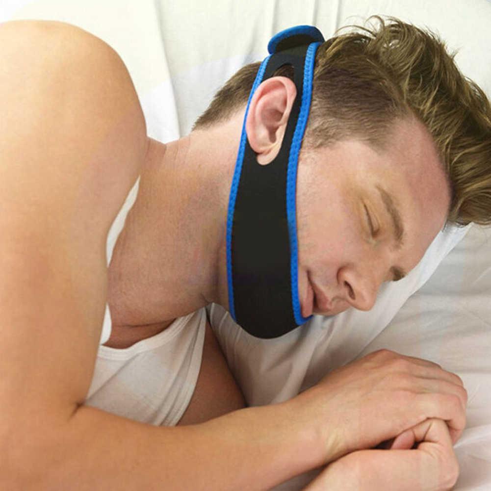 1 шт. для лечения храпа, подбородочная лента анти храп пояс апноэ челюсть поддержка решение повязка для сна здоровый