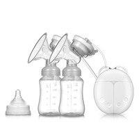 Bilateral Electric Breast Pump Bottle Sucking Milking Machine Women Massage Postpartum Automatic Breast Pump Baby Breast Feeding