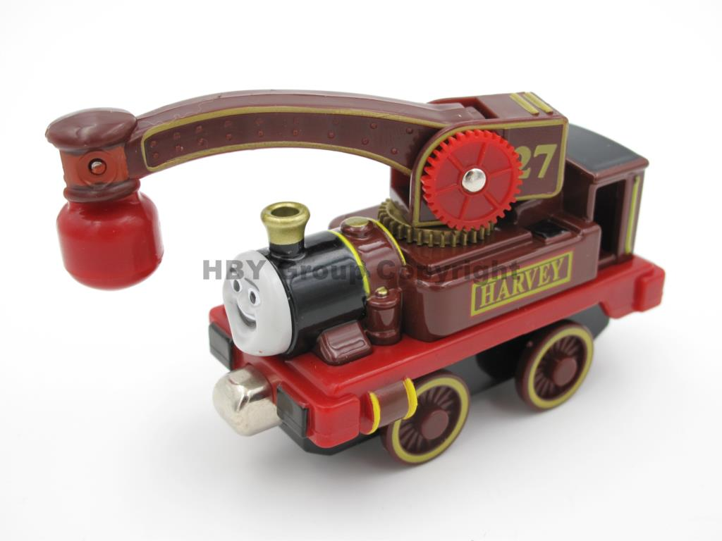 Diecast Toy Vehicles Train HARVEY Fit For BRIO Toy Car T066D Truck Locomotive Engine Railway Toys For Children