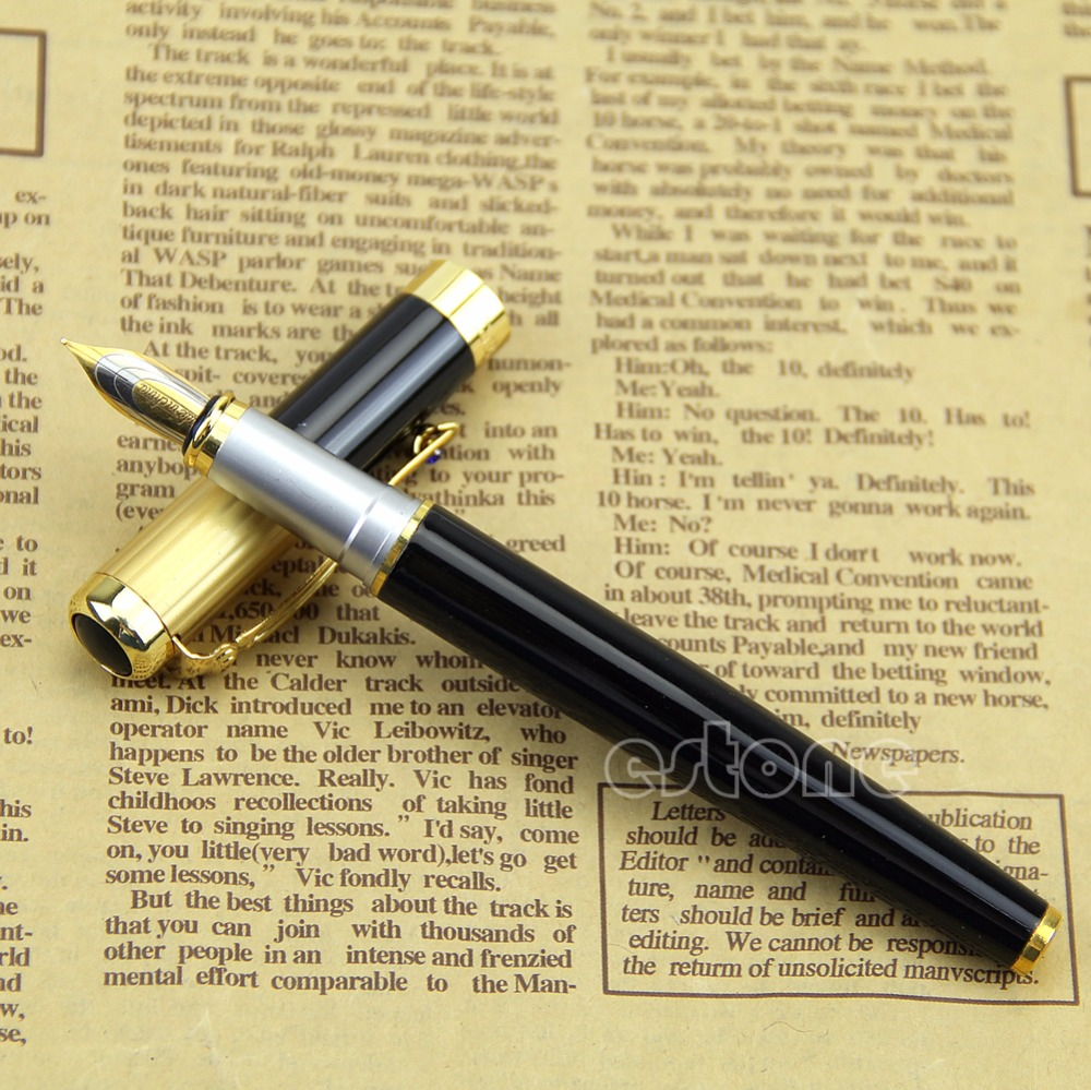 High goods Hero 91 Doctor Fountain Pen Fine Nib Made in 1990s Jumbo Size genium hero 100 pen total steeless 14k golden fine nib fountain pen