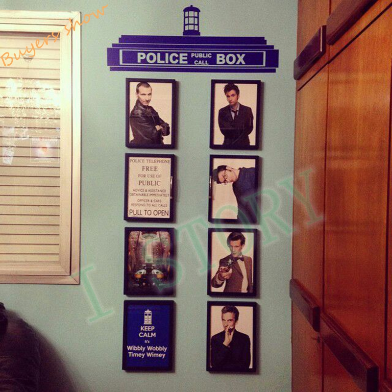 Creative Doctor Who Tardis Police Box Wall Decals, Transfer Sign Vinyl Wall  Sticker For Children/Kids Bedroom Decor In Wall Stickers From Home U0026 Garden  On ...